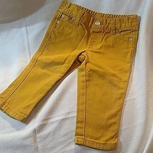 Mustard yellow Healthtex 12 months Pants